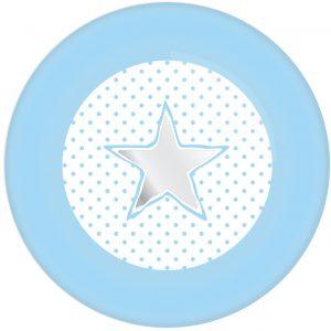 STER/HART OK 0205 Bordjes Blauw